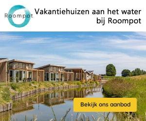vakantiehuizen aan het water banner roompot